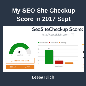 SEO Site Checker 2017 Sep
