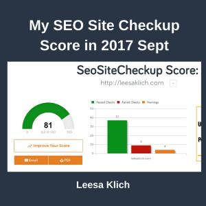 SEO Site Checker 2017 Sep