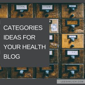 categories ideas
