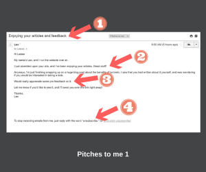 Pitches to me 1