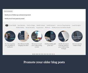 promote older blog posts