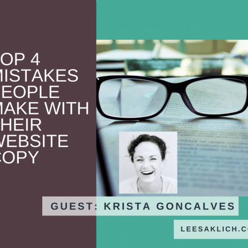 The Top 4 Mistakes People Make With Their Website Copy