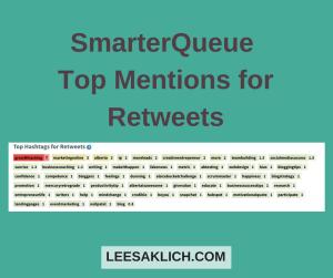 social traffic SmarterQueue Retweets