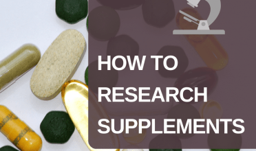 How to research supplements – Canada edition