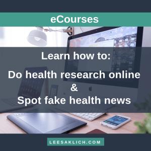 Credible health courses