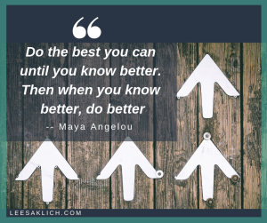 successful blogging tips Maya Angelou quote