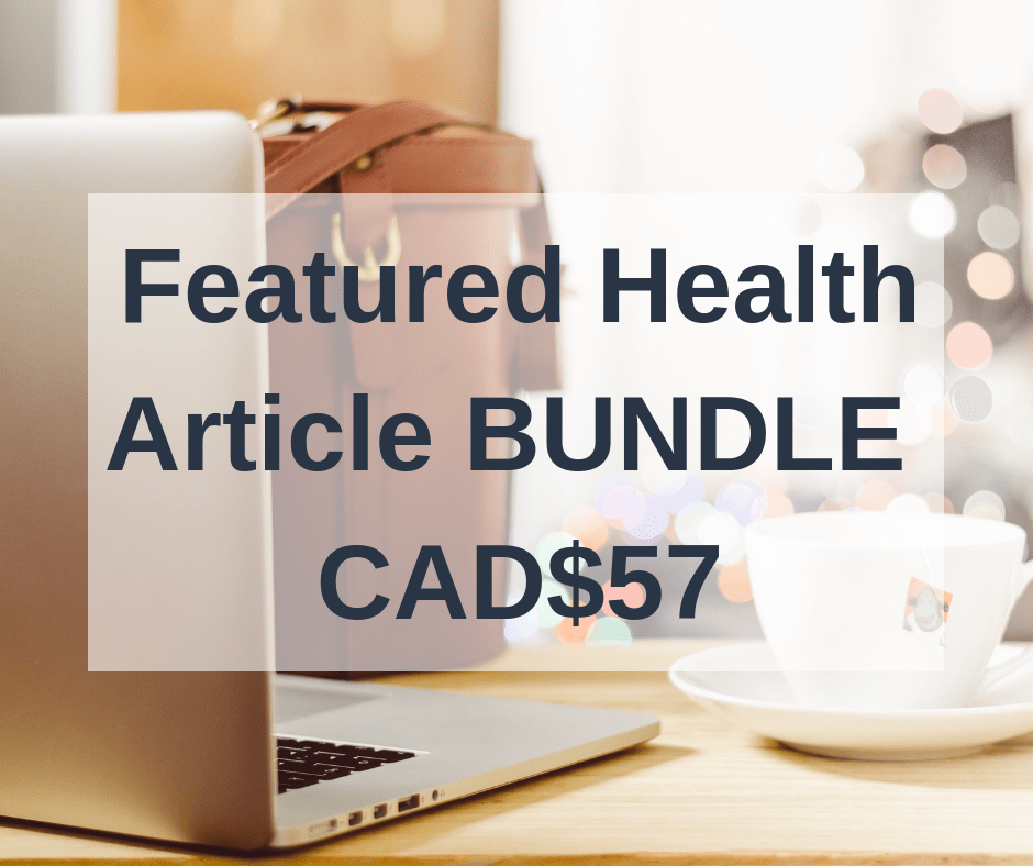 done for you health article bundle