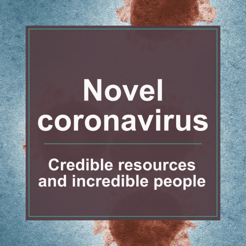 Novel coronavirus: credible resources and the challenge of pulling it all together in real-time