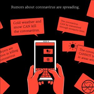 examples of social media misinformation about the coronavirus