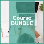 course bundle woman on laptop