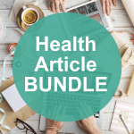done-for-you health article bundle