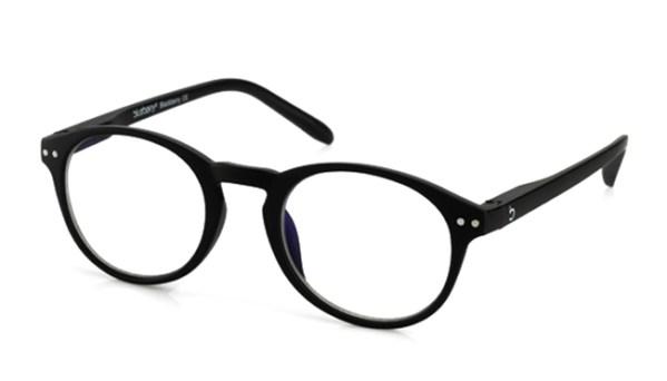 Computerbril Blueberry M zwart