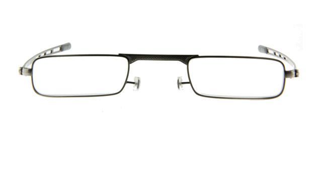 Extra platte leesbril INY G5500 pen Zilver (9 mm)