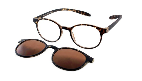 Lees en zonneleesbril in één Proximo PRIS002 C28 havanna