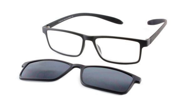 Lees en zonneleesbril in één Proximo PRIS003 C01  zwart