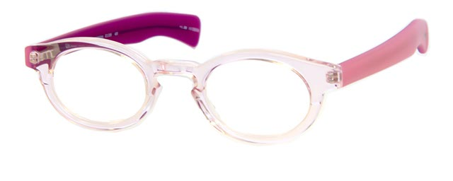 Leesbril Adult Supervision 2126 46 transparant/roze
