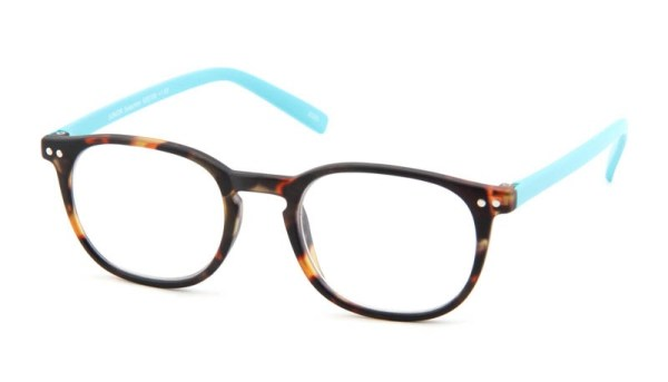 12198e339cc6ec Leesbril INY Icon Double G55700 havanna turkoois