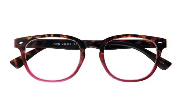 Leesbril INY Karl G60500 havanna/rood
