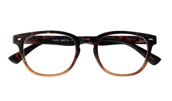 Leesbril INY Karl G60700 havanna oranje