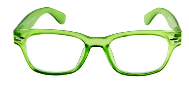 Leesbril INY Woody G38700 groen/transparant