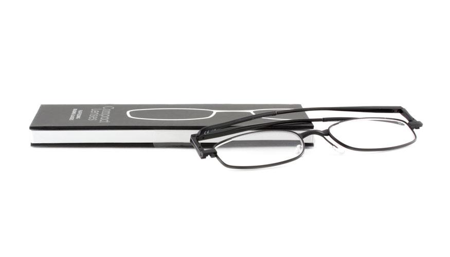 793b3acd705350 Leesbril If Compact Jet opvouwbaar zwart kopen