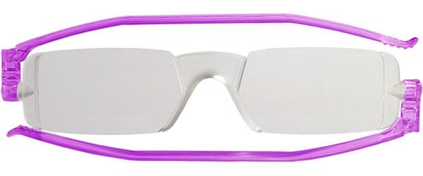 Leesbril Nannini compact opvouwbaar paars