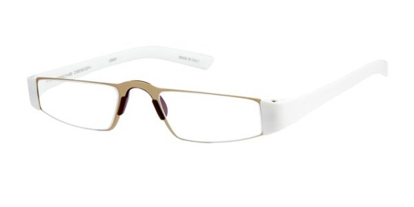 Leesbril Porsche Design P'8801c matgoud/wit