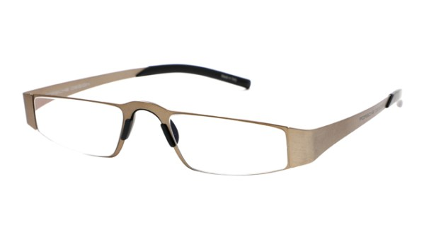 Leesbril Porsche Design P'8811c full titanium brons			Nog geen reviews.