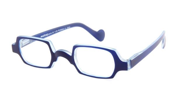 Leesbril Readloop Culture 2611-02 blauw