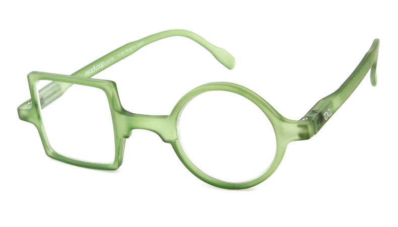 Leesbril Readloop Patchwork 2607-05 groen