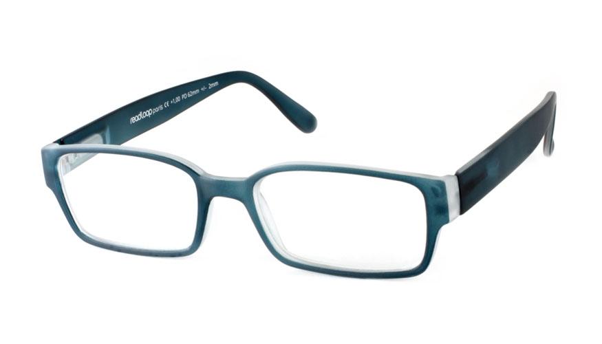 Leesbril Readloop Poncho 2608-02 staal blauw