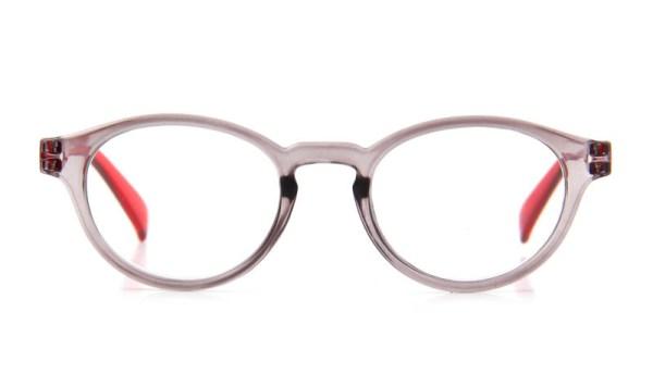 Leesbril iZi reader 09 grijs rood