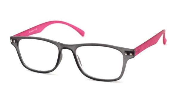 Leesbril iZi reader 11 grijs / roze