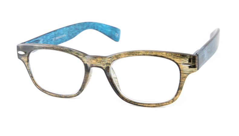 Leesbril talba hip blauw bruin  1651