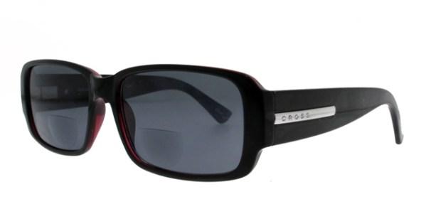 Leeszonnebril Cross Sun Bifocaal RD0101 zwart