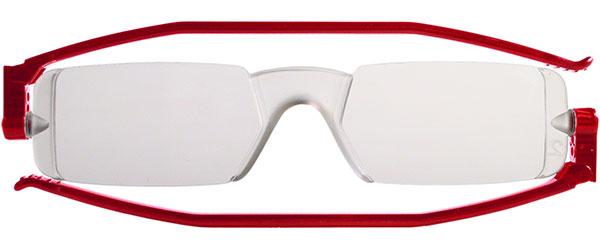 Leesbril Nannini compact opvouwbaar rood