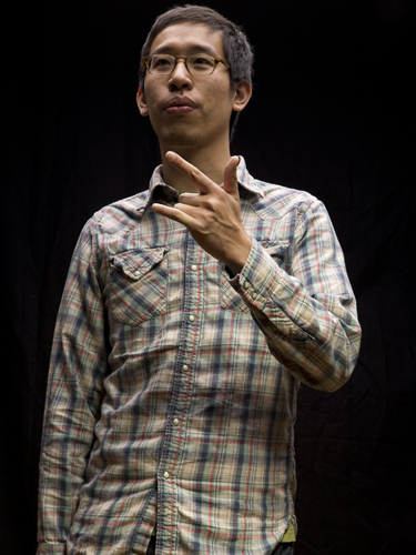 Portrait of Lee-Sean Huang by Jon Wasserman