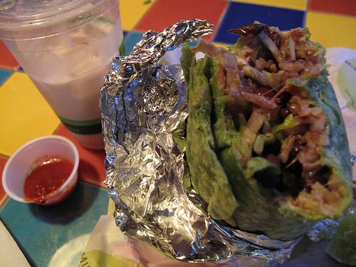 Vegetarian Burrito at Dos Piñas, San Francisco