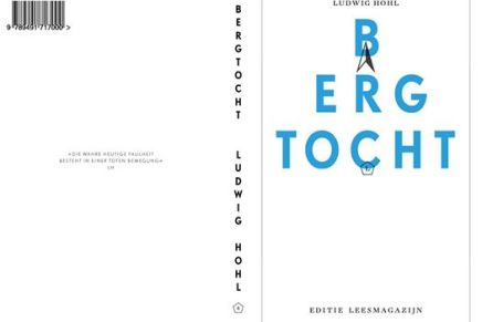 Bergtocht, van Ludwig Hohl verschijnt in maart, vertaling van Studio Posthuma