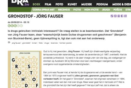 Herman Jacobs in Cobra.be: GRONDSTOF – JÖRG FAUSER