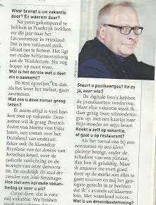 Peter Mertens PvdA Belgie neemt ook Deutschboden van Moritz von Uslar mee op vakantie!