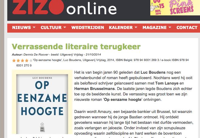 Louc Boudens ziggo online