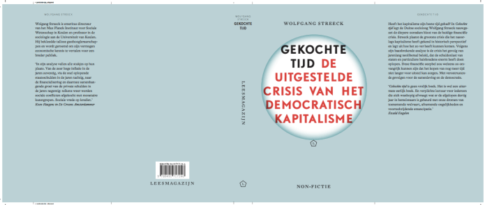 Gekochte Tijd Wolfgang Streeck cover