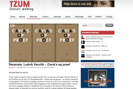Recensie: Ludvík Vaculík – Cavia's op proef   1 MEI 2015 door Johannes van der Sluis