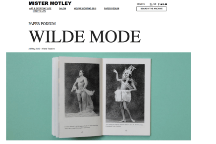 Wilde Mode, Wieke Teselink, Mr Motley 23 mei 2015