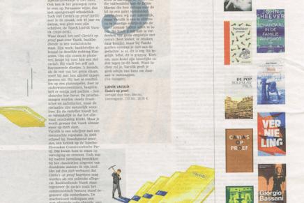 'Men komt de innerlijke sadist tegen', Creatief met cavia's, De Standaard, 26 Juni 2015