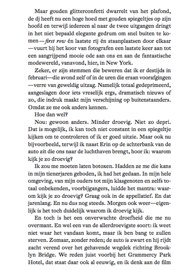 Glitter confetti pagina, Joachim Bessing