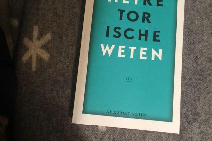 Verschenen: Het Retorische Weten van Emanuel Rutten