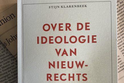 Over de ideologie van nieuw-rechts, Stijn Klarenbeek