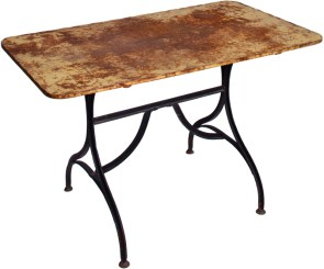 France circa 1880 garden table (Z107)